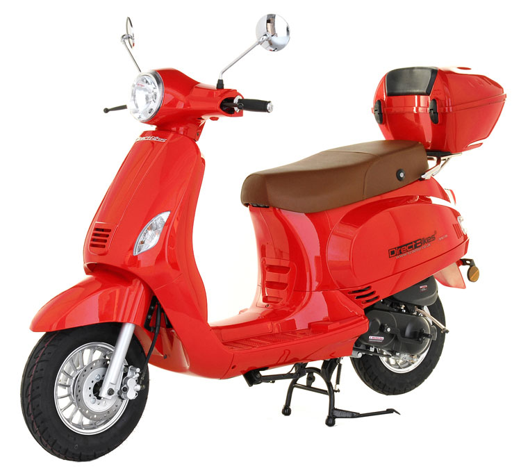 50cc Milan moped scooter from Direct Bikes