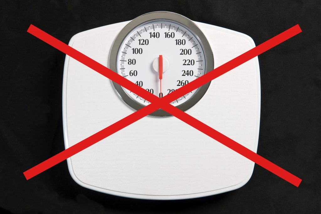 Ditch the Scales - use the ribbon test