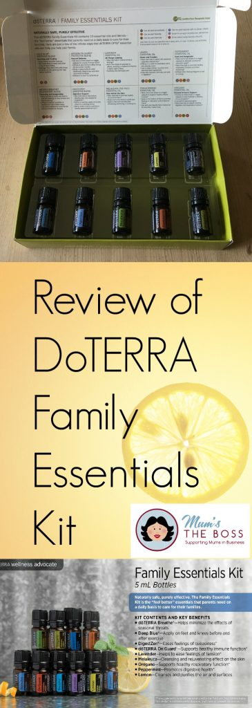 Review of DoTERRA Family Essentials Kit