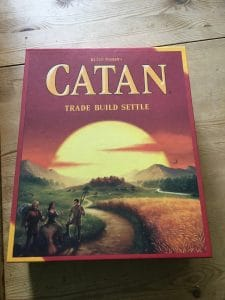New Catan game - with updated design box