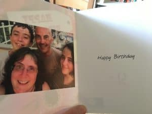 Look At This Birthday Card For Example I Have Put The Greeting And Our Photo Inside But It Is Ready Me To Send Or Give Just About Anybody