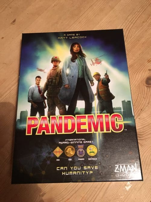 Pandemic boardgame