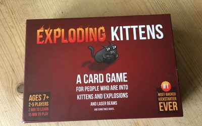 Family Games Night: Review of Exploding Kittens