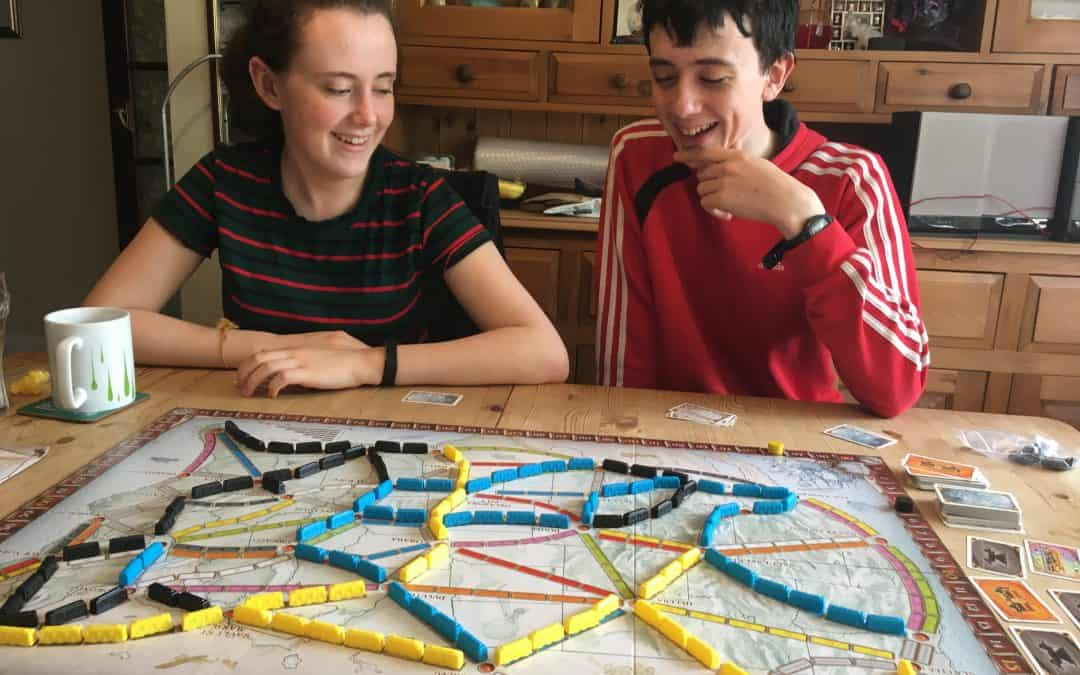 Family Games Night – Review of Ticket to Ride