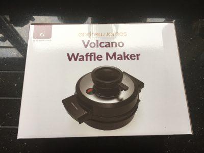 volcano waffle maker
