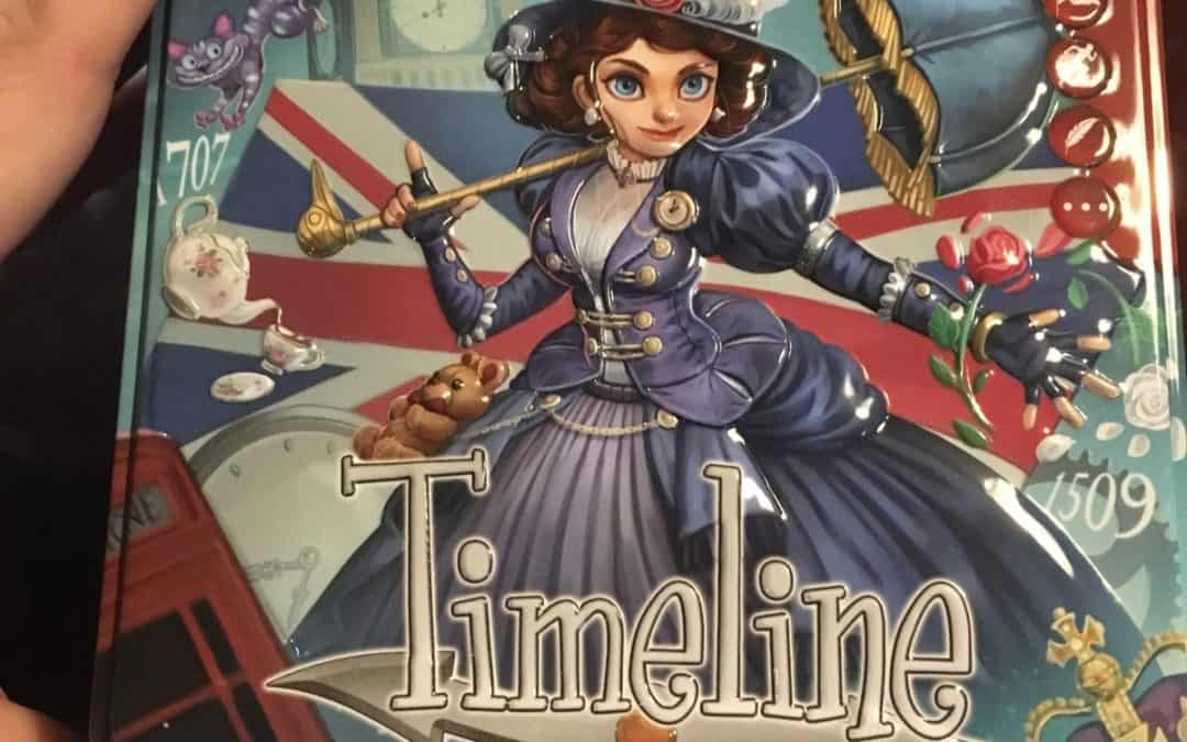 Family Games Night: Review of Timeline Game