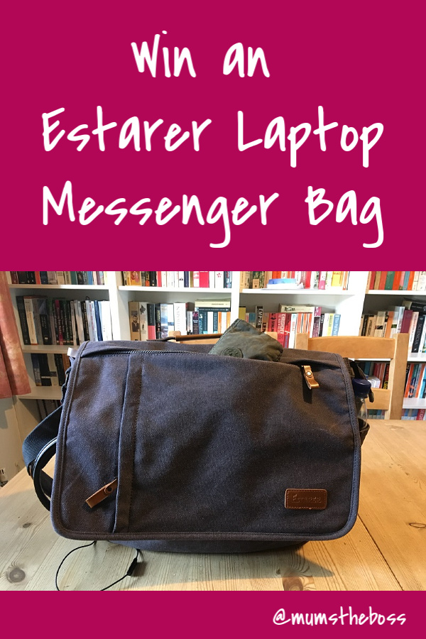 Win a Laptop Messenger bag from Estarer with Mum's the Boss.   Read the blog and fill in the form to enter