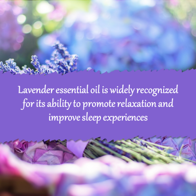 Lavender oil - aromatherapy for sleep
