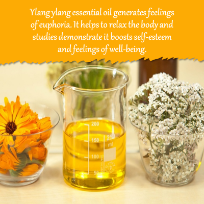 Aromatherapy for sleep Ylang Ylang