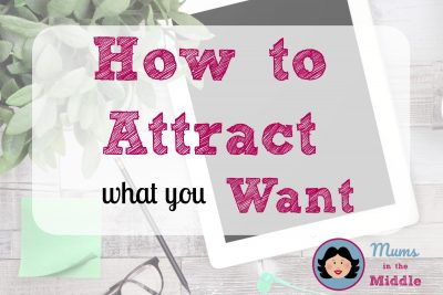 attract what you want - title page