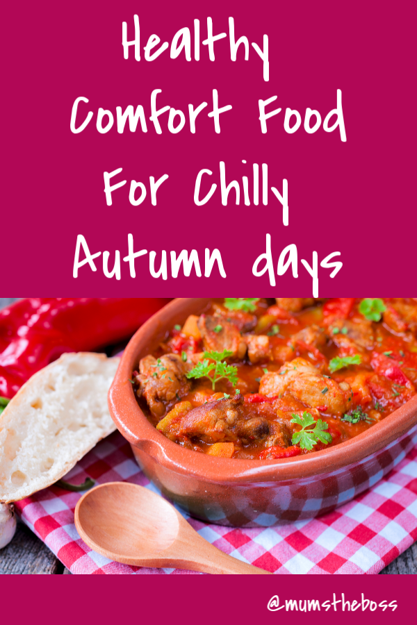 Healthy Comfort Food. Slow cooker recipes and stews for the Autumn chill