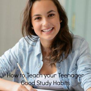 develop good study habits