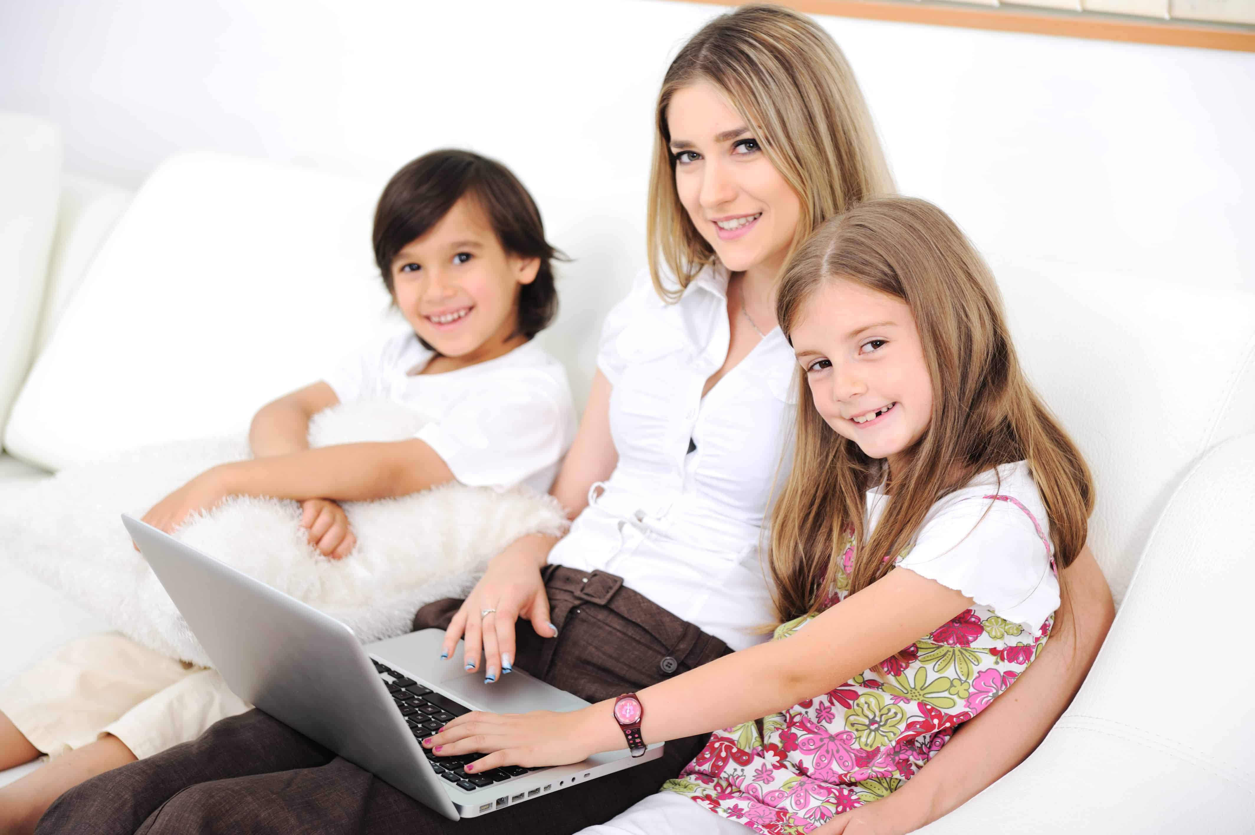 Four tips to help secure your family's online life