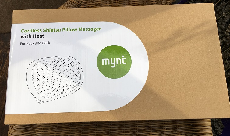 Review and giveaway: Mynt Shiatsu Massager