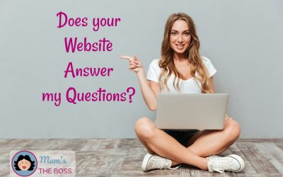 Does your Website answer these Common Customer Questions