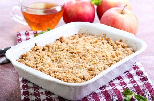 Autumnal Apple Crumble Recipe