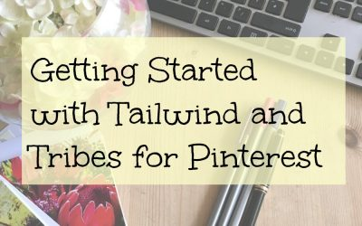 Getting started with Tailwind Tribes on Pinterest