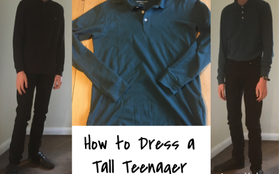 How to dress a tall skinny teenager