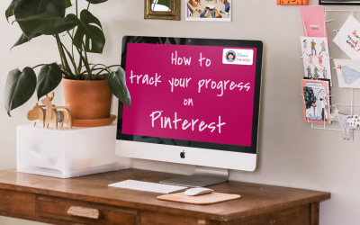 Pinterest tips: How to track your progress