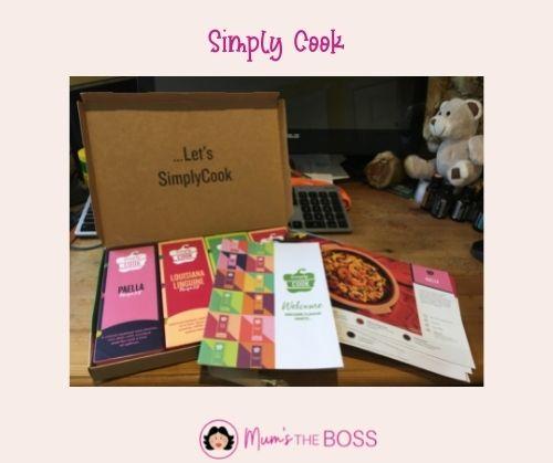 SimplyCook  box