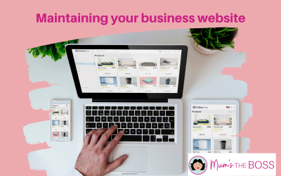 Maintaining Your Business Website