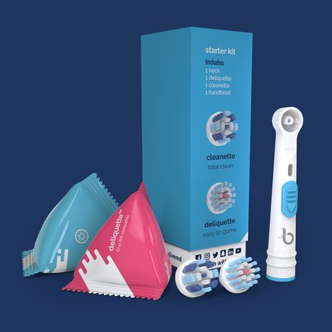 Review and Giveaway: Brushette Eco-Friendly Electric toothbrush heads