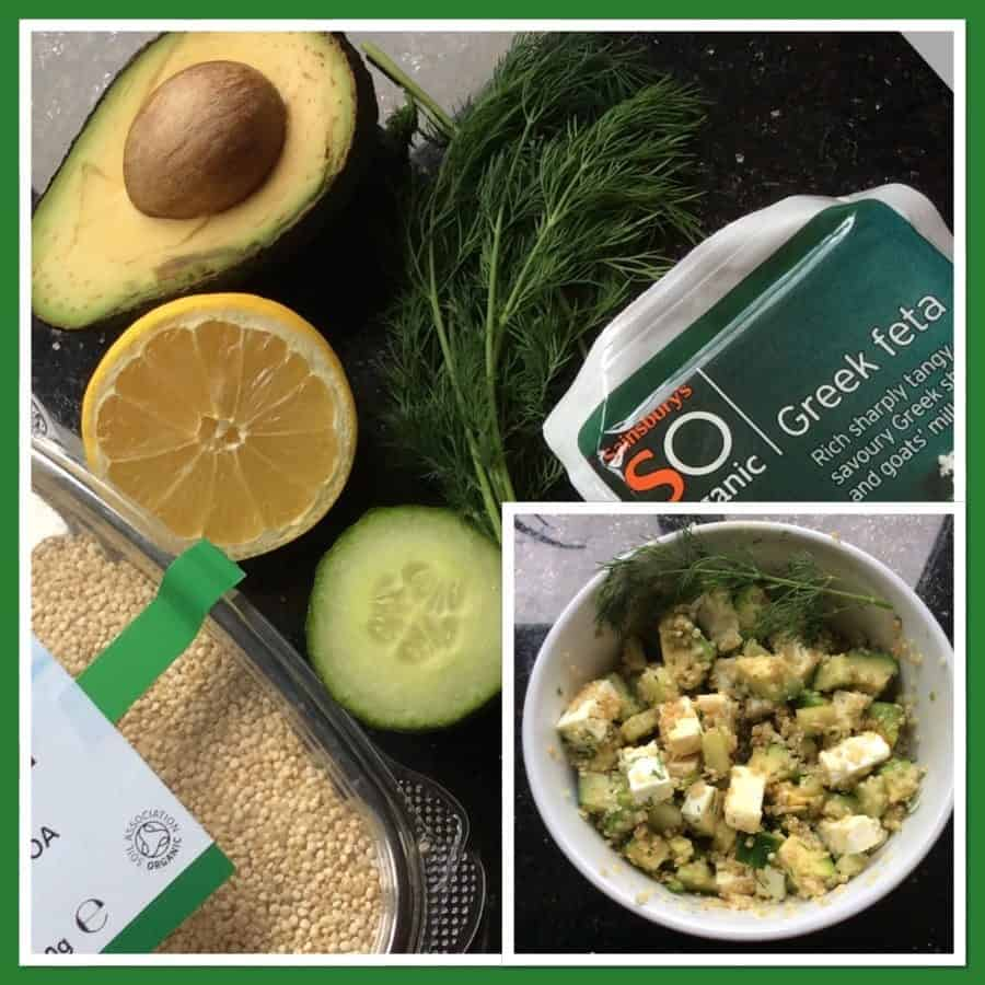 Quinoa Cucumber and Dill Salad