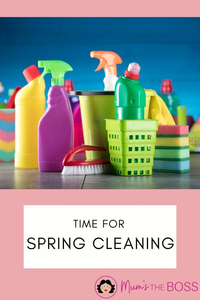 It's time for spring cleaning - images of cleaning products