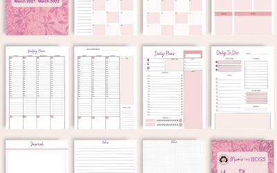 Printable Planner Time – the one in which I finally get organised!