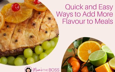 Quick and Easy Ways to Add More Flavour to Meals