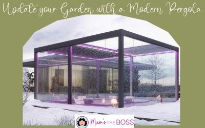 Update your garden with a Modern Pergola