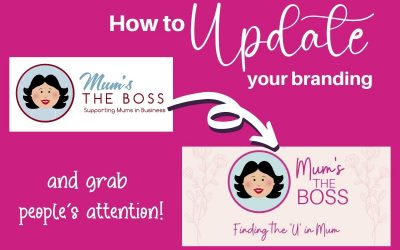 How to update your branding and grab people's attention