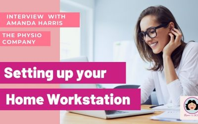 Setting up your home workstation for health and wellbeing