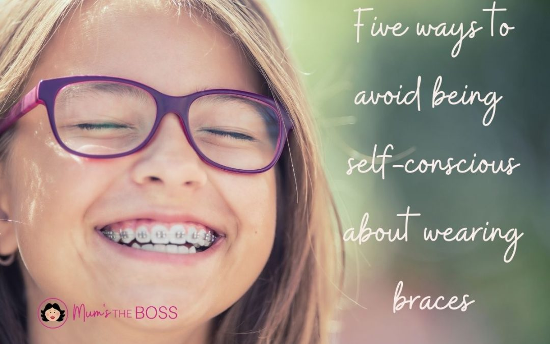 Five ways to avoid being self-conscious about wearing braces