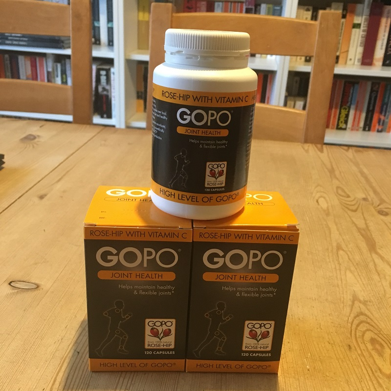 GOPO joint health supplements with rosehip