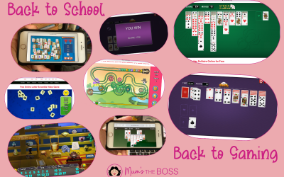 Back to School  – Back to phone Gaming with Solitaire.org