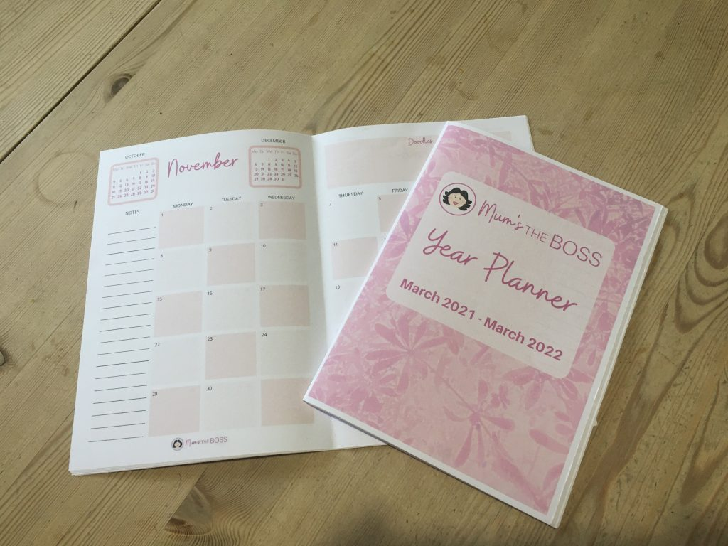 Mums the Boss printable planner