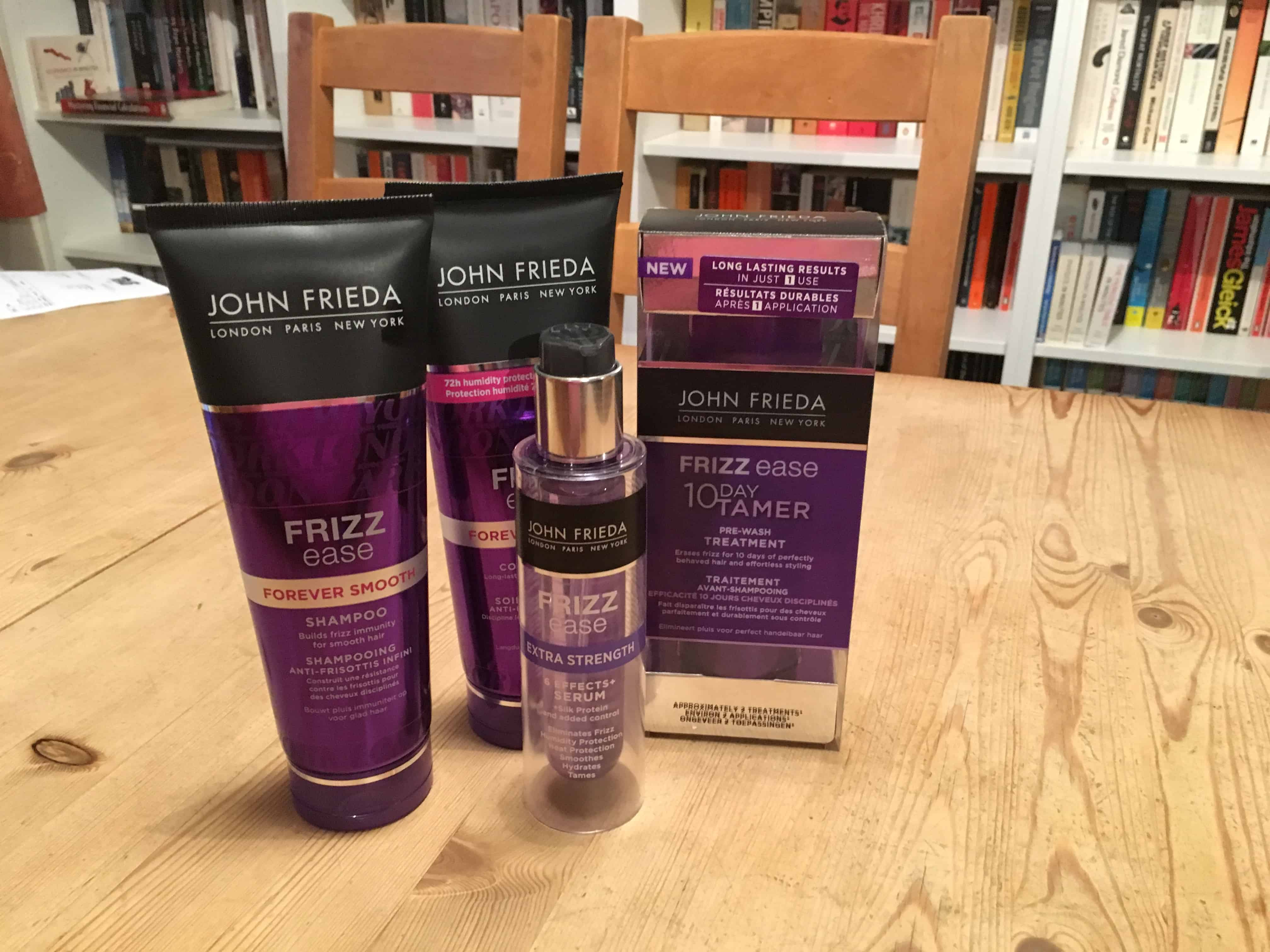 Frizz Ease by John Frieda: Review and Giveaway