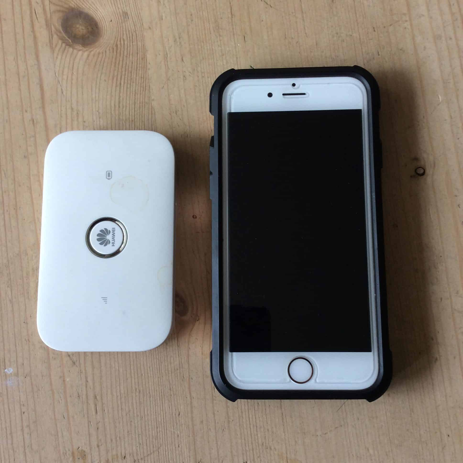 Review of Huawei MiFi from Three.co.uk