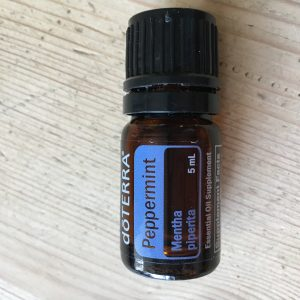 DoTERRA Peppermint oil, part of the Family Essentials kit
