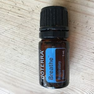 DoTERRA Breathe blend (now renamed as Easy Air), part of the Family Essentials kit