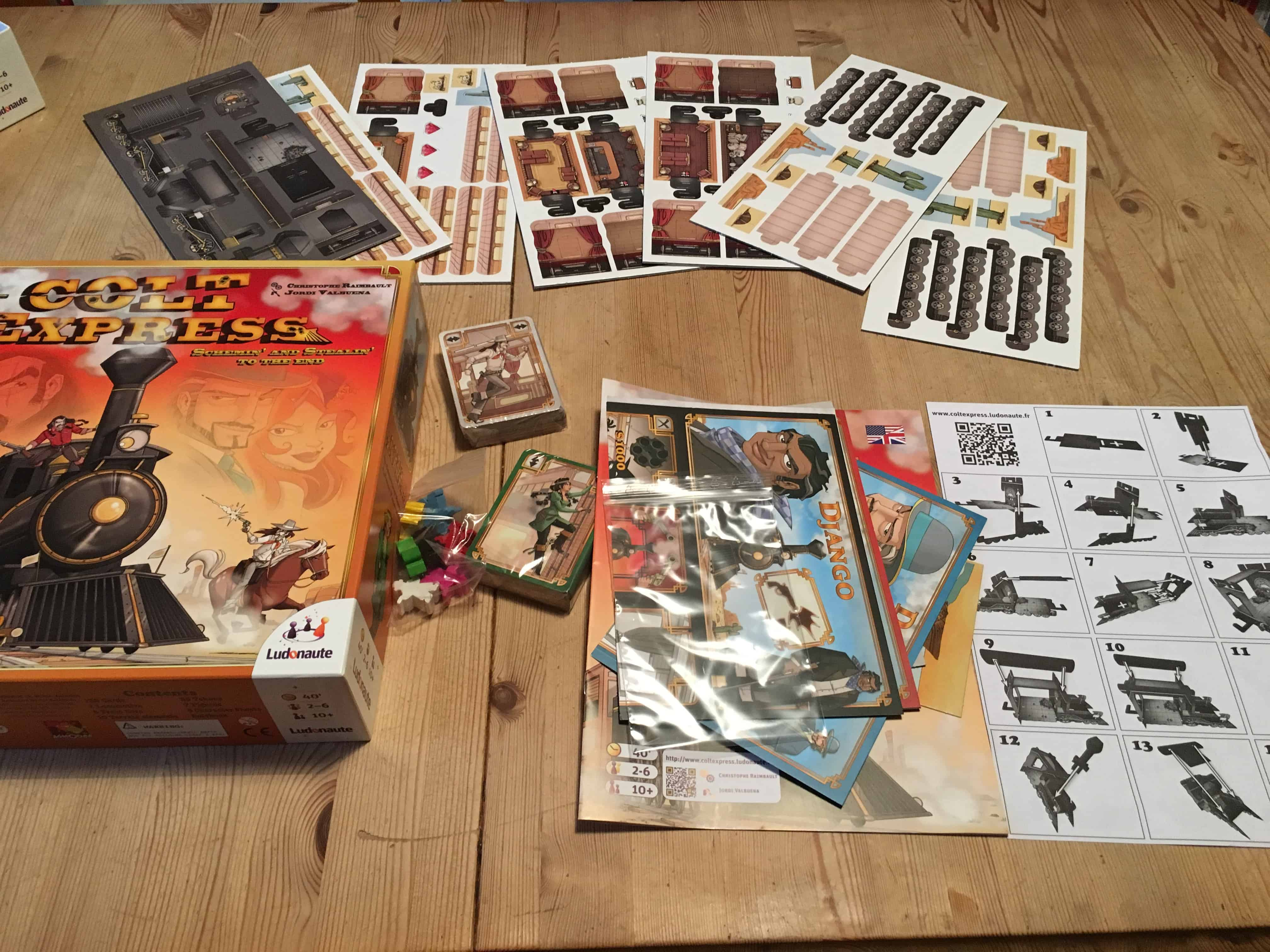 Family Games Night: Review of Colt Express