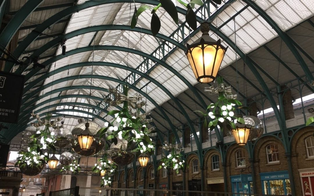 Visiting Covent Garden for the first time