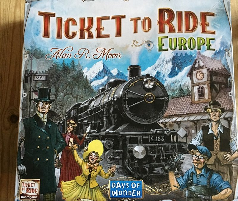 Review and Giveaway: Ticket to Ride game