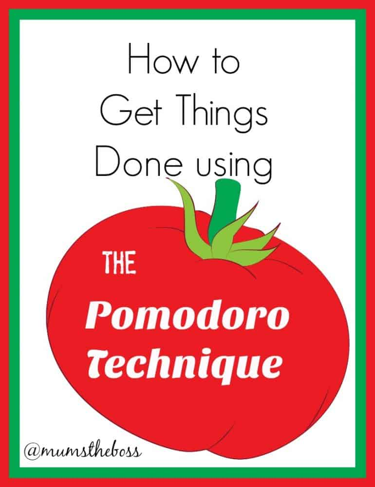Manage your time more efficiently with the Pomodoro Technique®