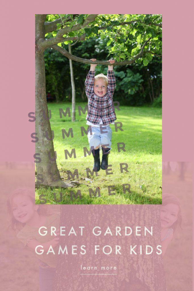Great garden games for kids
