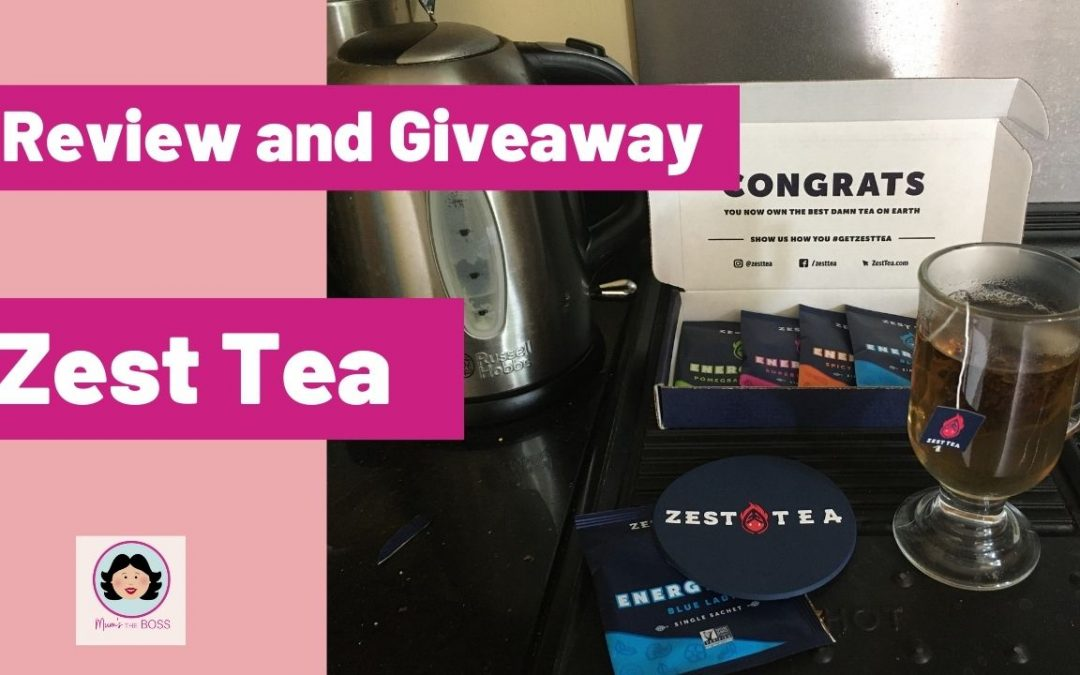Review and Giveaway: Zest Tea