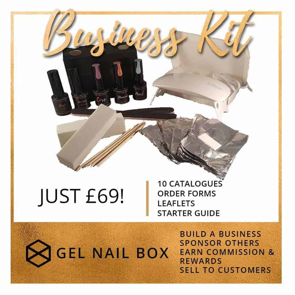 Brand new UK MLM opportunity: Gel Nail Box