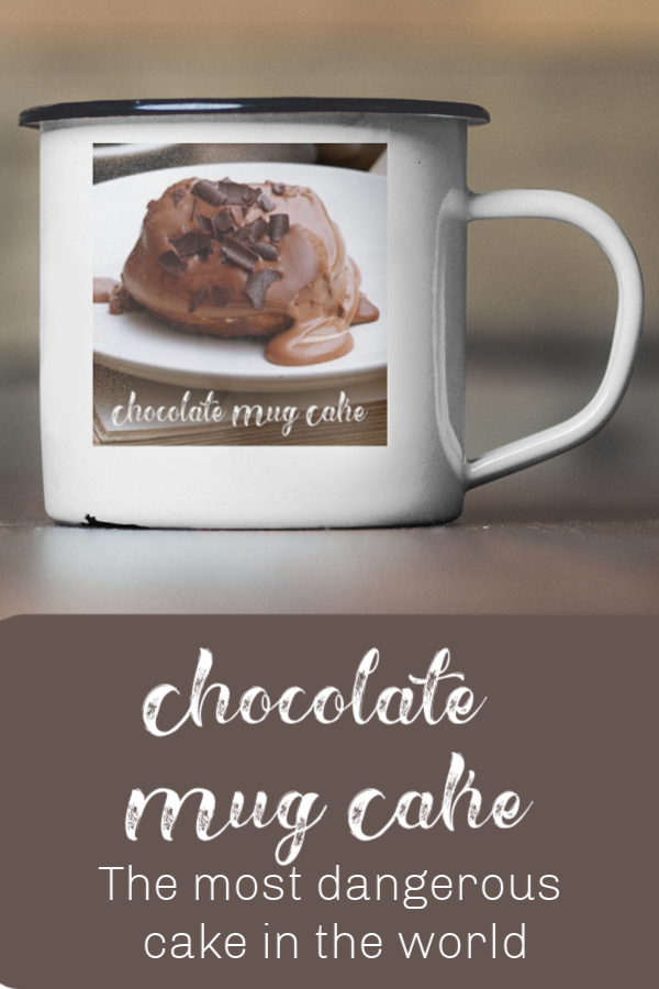 Chocolate mug cake - the most dangerous cake recipe in the world. You can have hot cake in just 5 minutes from now - how will you resist?