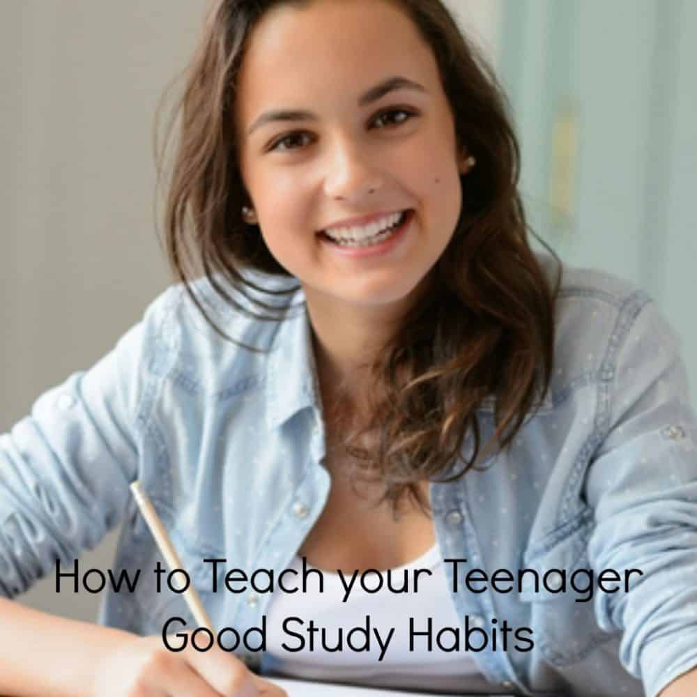 How to help your teenager form good study habits